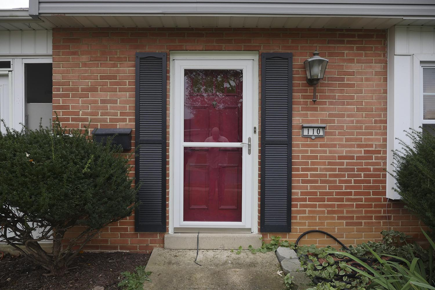 Check Out The Update To This Entry Door With Before After Photos Customer Had A New Red Storm Installed Their