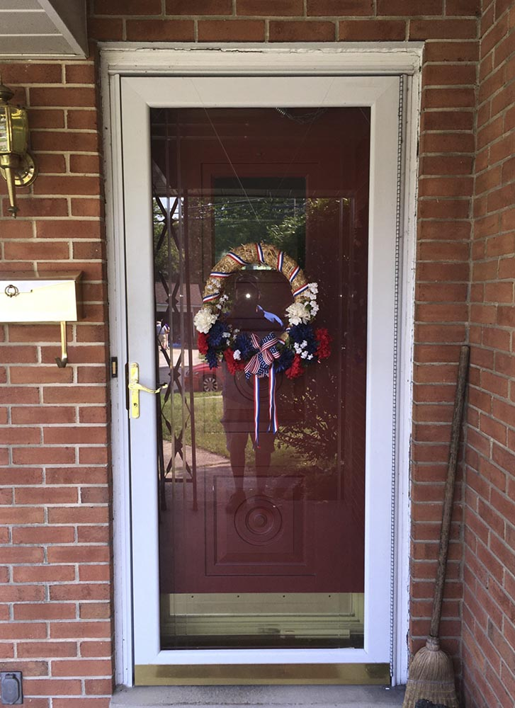 Their New Entry Door Feature A Beautiful Glass Package That Adds Style To  Their Entryway And Allows More Light Into The Home Without Sacrificing  Their ...