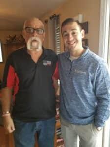 Rick Corson and his design consultant